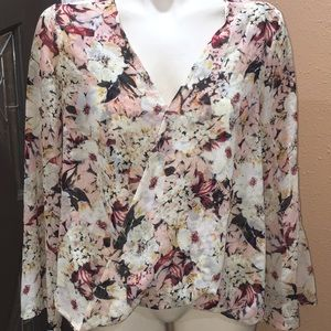 Foreign Exchange floral top
